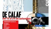 Obert el període de segones inscripcions a l'Escola de Música Municipal de Calaf
