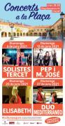 Concerts a la plaça - 'Duo Mediterráneo'