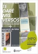 Presentació llibre 'Te daré mis versos' + exposició fotogràfica 'Exterior'