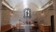 Interior rehabilitat de l'ermita de Sant Sebastià de Calaf - febrer 2020