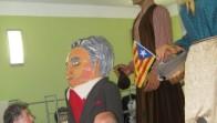 Gegantó Alexandre de Riquer a la seva nova casa