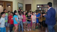 Visita alumnes 3r a l'Ajuntament - 29.05.15 - Alcaldia