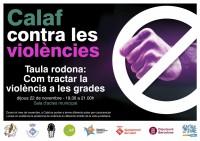 Taula rodona: Com tractar la violència a les grades