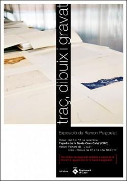 Exposició 'Traç, dibuix i gravat' - Ramon Puigpelat Font