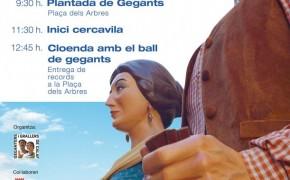 200 geganters i grallers participaran en la IX Trobada Gegantera de Calaf