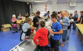 Recollida de tiquets pel sopar popular de la Festa Major, del 24 al 31 d'agost