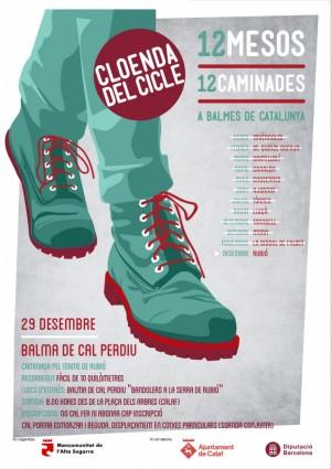 caminada mes de desembre - balma de Cal Perdiu (Rubió)