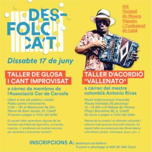 Tallers del Desfolca't 2017