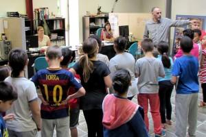 Visita dels alumnes de l'Escola Alta Segarra