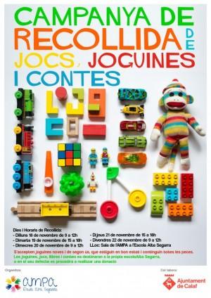 AMPA recollida de joguines