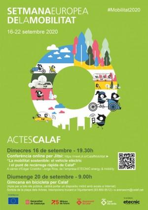 Setmana Europea de la mobilitat a Calaf