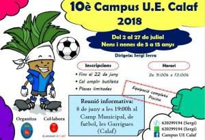 U.E Calaf - Campus futbol