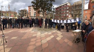 Acte plaça dels Arbres 8M 2018