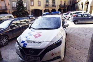 Cotxe elèctric vigilants municipals Calaf