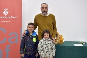 Nou hereu i nova pubilla de Calaf, Isaac Gabarró i Jorgina Miquel