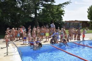 exhibició cursets natació Calaf 2018