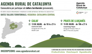 Taller Territorial Agenda Rural de Catalunya