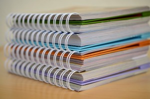 llibreta escolar