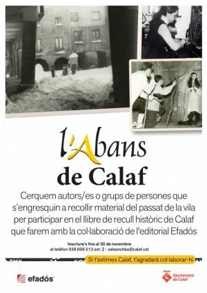 L'Abans de Calaf - projecte de recuperació de memòria històrica
