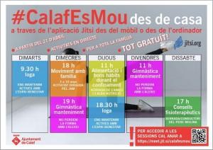 Classes esportives i xerrades de salut #calafesmou