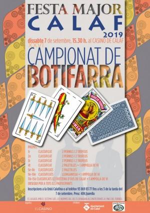 XVI Campionat de Botifarra de Calaf