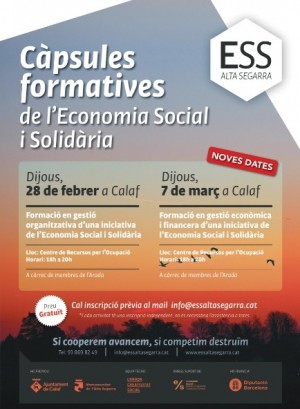 Càpsules formatives de l'Economia Social i Solidària