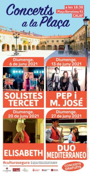 Concerts a la Plaça