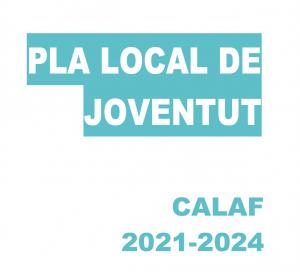 portada Pla Local de Joventut de Calaf 2021-2024