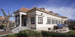 Vista general de la Casa Joan Gimferrer de Calaf
