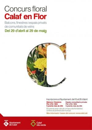 cartell Calaf en Flor