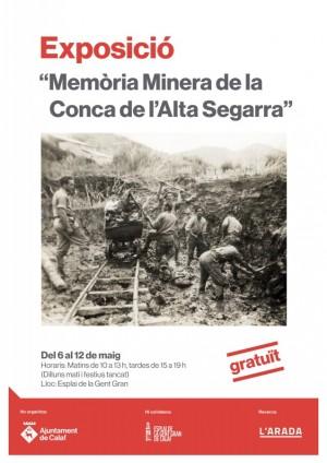 cartell exposició mineria