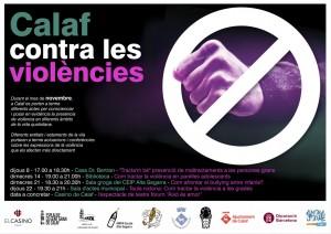 Calaf contra les violències - general