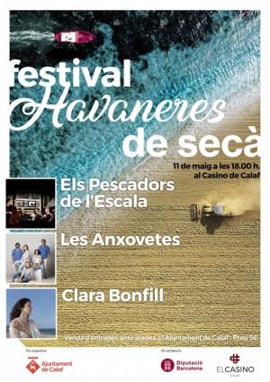 cartell II festival havaneres de secà