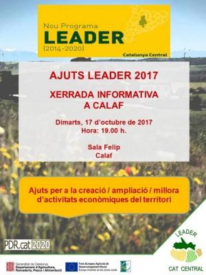 Xerrada LEADER 2017