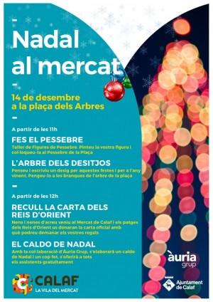 Activitats de Nadal al Mercat de Calaf