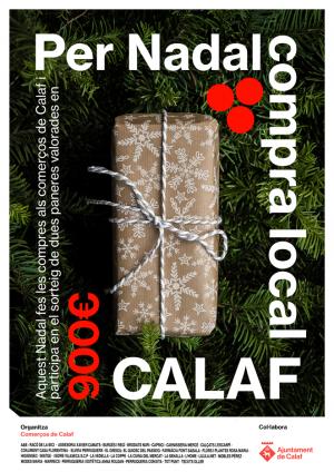 Cartell campanya - Per Nadal Compra Local