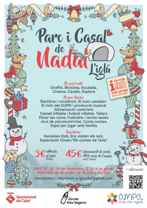 Cartell Parc/Casal de Nadal 2017-2018