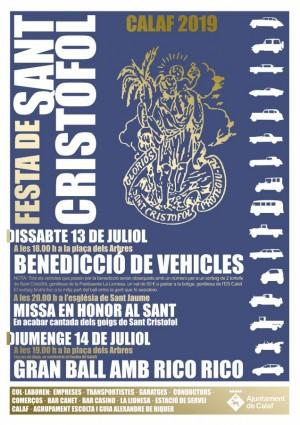 Sant Cristòfol 2019 Calaf