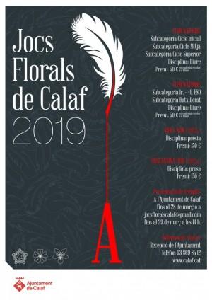 Jocs Florals Calaf 2019
