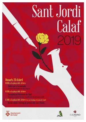 Activitats de Sant Jordi a Calaf