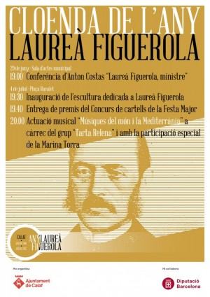 Cartell Cloenda Any Figuerola