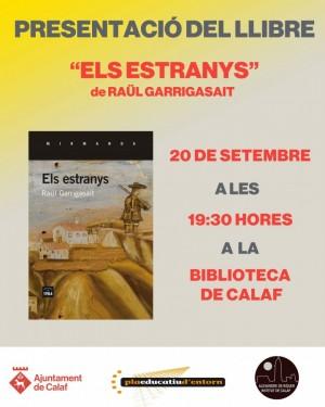 La presentació serà el dia 20 setembre