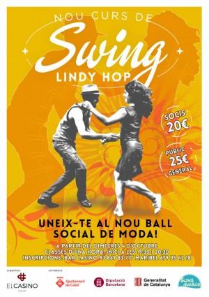 Les classes de swing seran cada dimecres a partir del 4 d'octubre