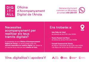 Digit-All: Oficina d'Acompanyament Digital de l'Anoia