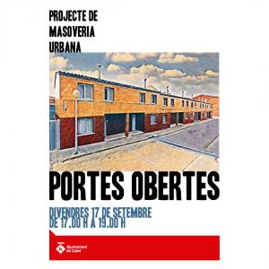 Masoveria Urbana - 'Jornada de portes obertes'