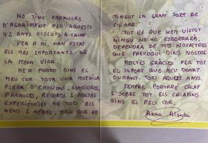 Homenatge Anna Alsedà Riera