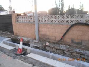 Robatori cablejat avinguda Josep Miró de Calaf