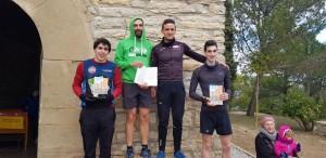 Guanyadors categoria masculina cursa llarga (10km) - Tocats per la campana