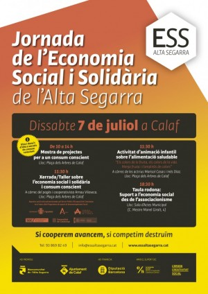 Jornada Economia Social i Solidària Calaf