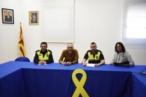 Presa de possessió dels vigilants municipals de Calaf